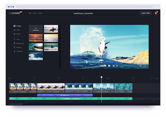 ClipChamp video editor online